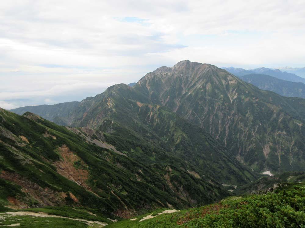 唐松岳へ3