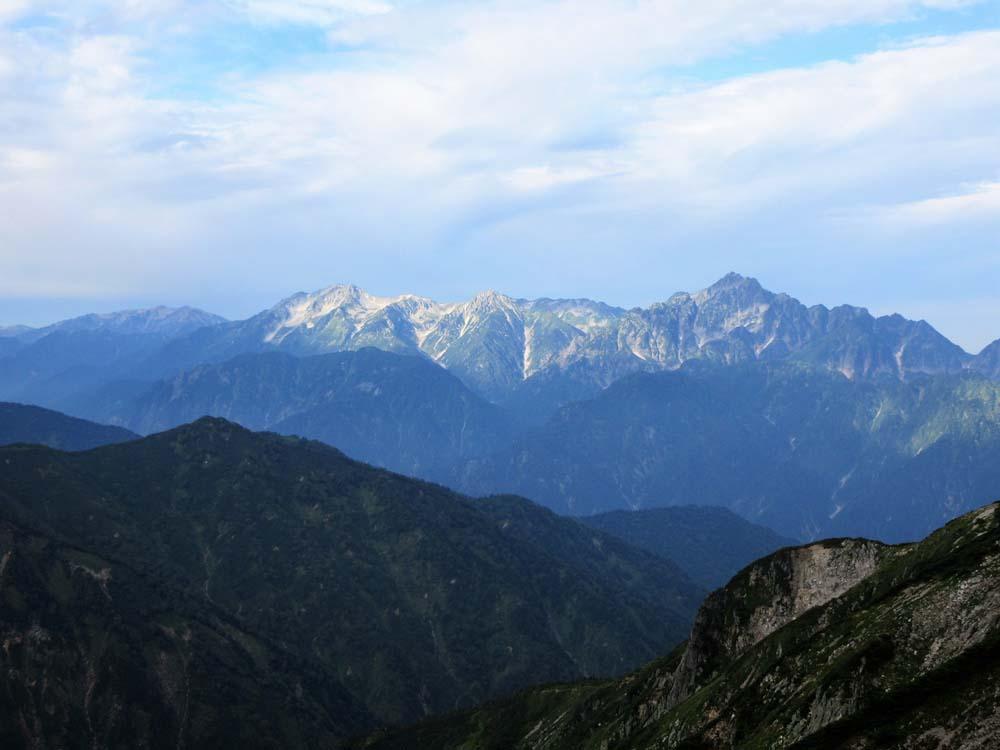 唐松岳へ4