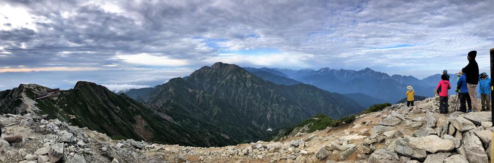 唐松岳山頂4