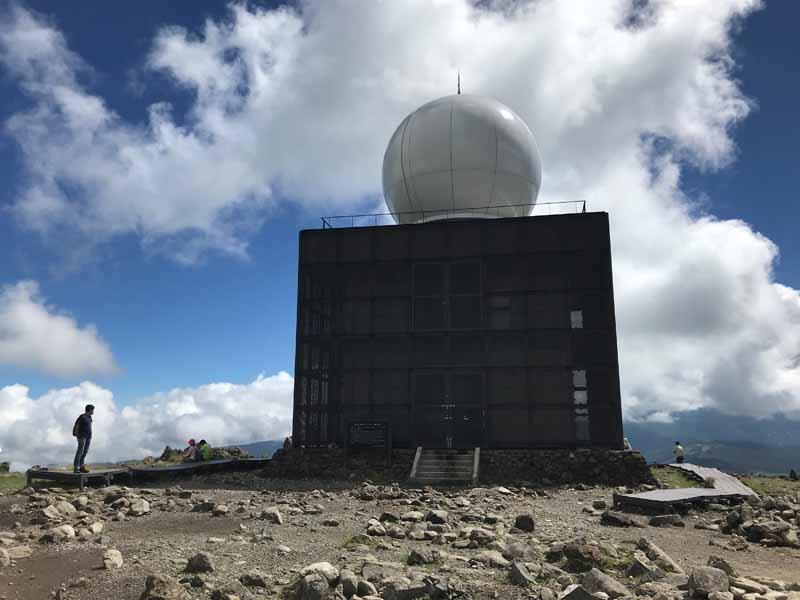 気象レーダー観測所