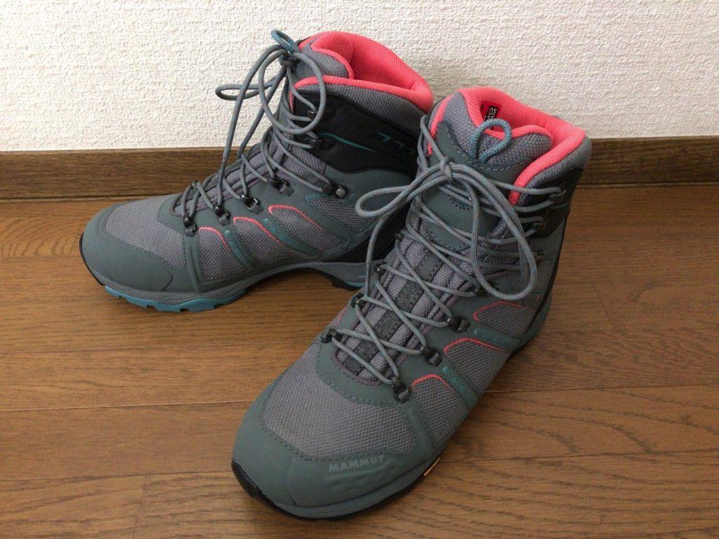 マムート登山靴